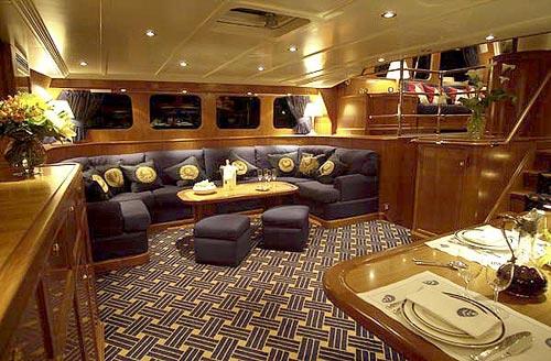 Interieur Yacht